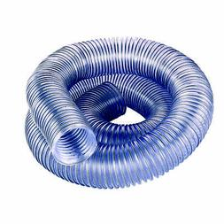 2 5 diameter clear dust collection hose