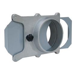 Powertec 4 inch Aluminum Blast Gate Vacuum Dust Collector Co