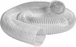 POWERTEC 70239 PVC Dust Collection Hose  | Flexible 6