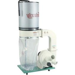 Grizzly G0548ZP 2 HP Canister Dust Collector with Aluminum I