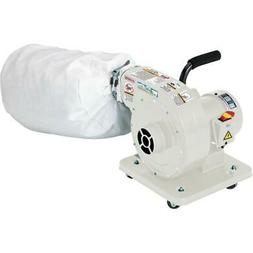 G1163P Grizzly 1 HP Light Duty Dust Collector - Polar Bear S