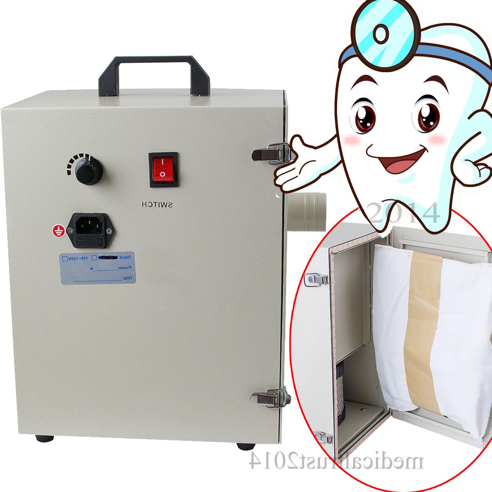 1200w 9kg power dental lab bench duct