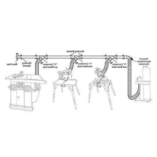 POWERTEC 70232 Dust Fittings Network | Dust for Woodworking