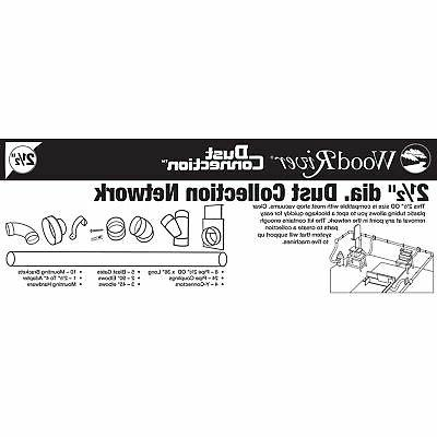 """WoodRiver Dust Collection – 2-1/2"""""""