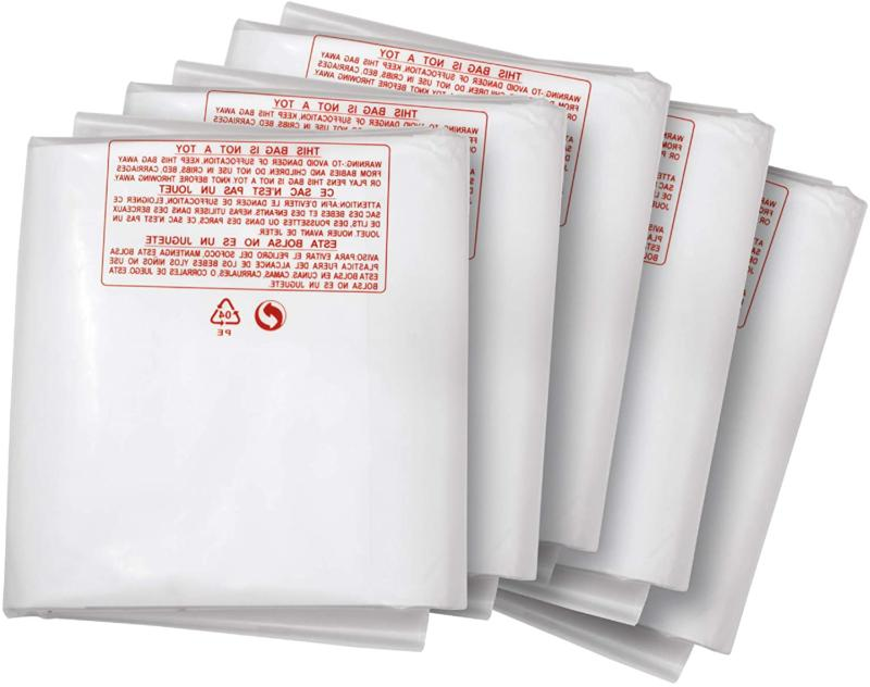 Clear Plastic Dust Collector  Bag Replacement Kit Vacuum Par