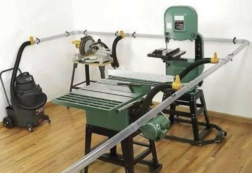shop vac saw dust collection system model