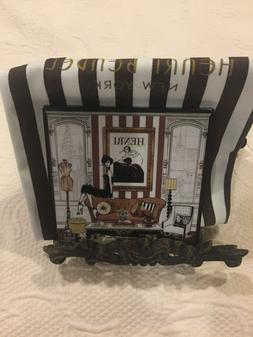 Henri Bendel Megan Hess Coaster Iconic Collectable With Dust