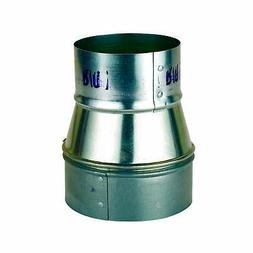 """Oneida Air Systems Metal 5"""" to 4"""" Reducer Dust Collection Fi"""