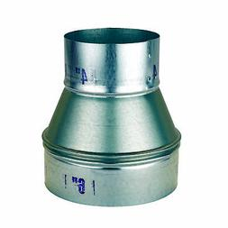 """Oneida Air Systems Metal 6"""" to 4"""" Reducer Dust Collection Fi"""