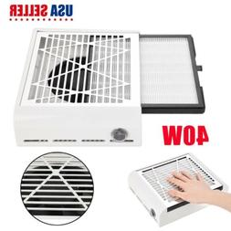 Nail Dust Collector Vacuum Cleaner Suction Filter Dust Colle