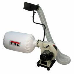 NEW JET TOOLS 717500 DC-500P WHITE PORTABLE DUST COLLECTOR