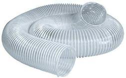 POWERTEC 70220 PVC Dust Collection Hose    Flexible Clear Vu